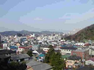 横須賀での散歩コース