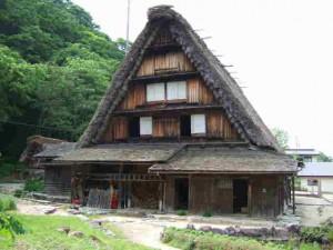 重文「旧遠山邸」(白川郷の手前10km)