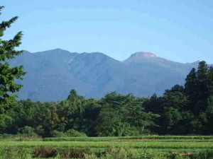早朝の那須岳(茶臼岳)