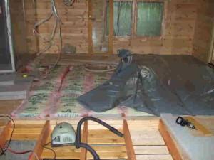 床下の断熱工事