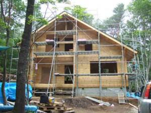 5月25日開始のMA邸・屋根工事完了