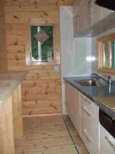 キッチンは2850mmとワイドです