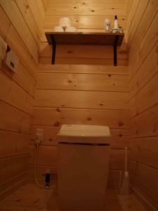 1階トイレ (棚はご主人作)