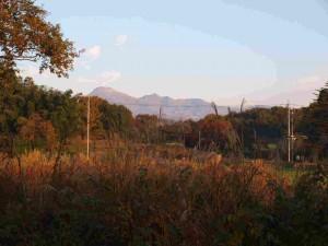 8日の早朝:茶臼岳遠望(アドバンスから)