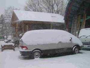 もう少し下まで雪なら本当の「タマゴ」